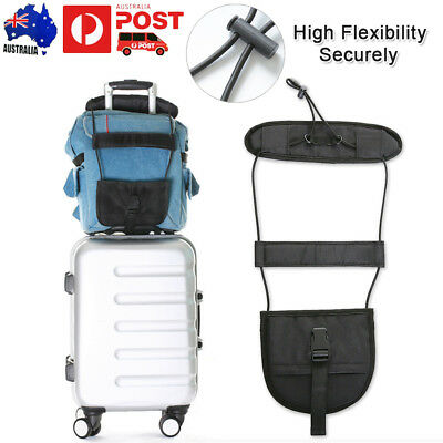 2x Travel Luggage Suitcase Adjustable Tape Belt Tie Add A Bag Strap Carry Bungee
