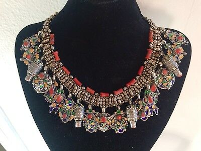 Bijoux Kabyle (Jewelry Kabyle North Afrique) Coral And Silver