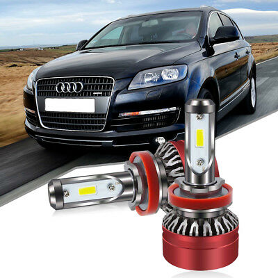 H8/H9/H11/H16(JP) RED LED Headlight Bulb Kit 60W 6000LM 6000K Low Beam Fog Light