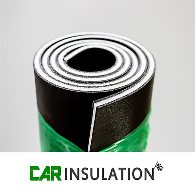 3m² Adhesive Vehicle Car Underlay Sound Insulation Heat Car Van Camper Boat 11mm