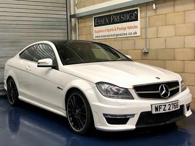 2013 Mercedes-Benz C Class 6.3 C63 AMG Coupe 2dr Petrol MCT 7S (280 g/km,