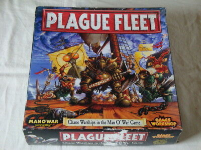 Plague Fleet - 100% Complete *Man O'War* Games Workshop