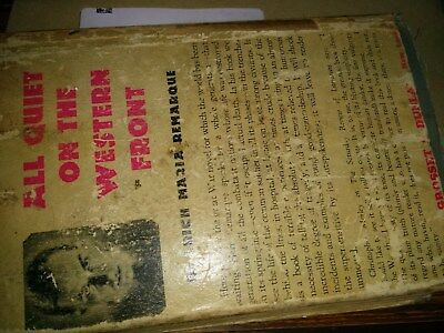 All Quiet on the Western Front by Erich Maria Remarque (Hardback, 1929)