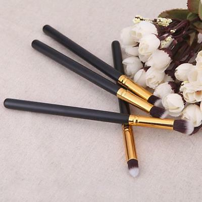 4Pcs Makeup Brushes Set Powder Foundation Eyeshadow Eyeliner Brush Tools LH