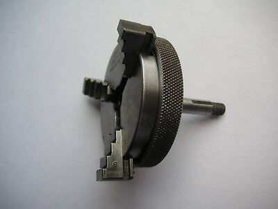 Quality 3 jaw chuck for watchmakers lathe