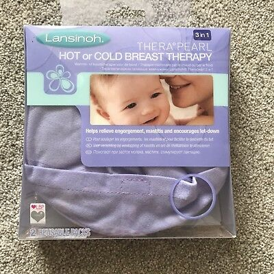 Lansinoh TheraPearl 3-in-1 Hot or Cold Breast Therapy