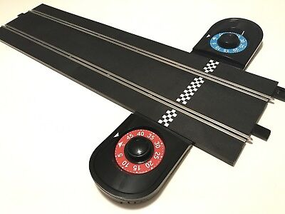Scalextric 1:32 Scale Extra Long Straight/Lap Counter Slot Car Track Brand New