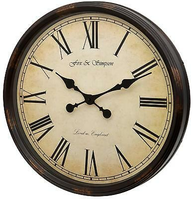 Fox and Simpson Grand Central Station Extra Large 50cm/20-Inch Wall Clock sw495