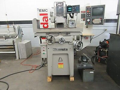 Okamoto Linear 612/14 Surface Grinder with 2-Axis DRO