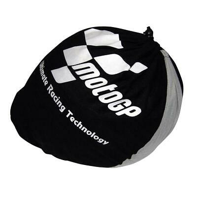 MotoGP Motorbike Motorcycle Drawstring Helmet Bag Black Grey New