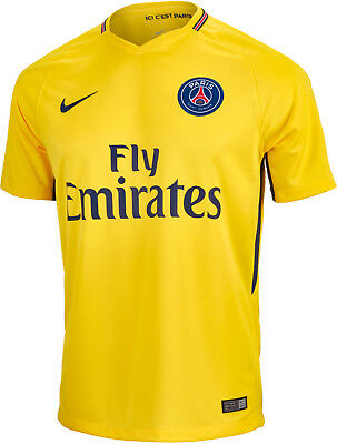 Nike Mens PSG / Paris Saint Germain 2017/18 Away Shirt - 847268 720 - Sz S