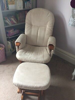 Reclining Nursing Glider Chair And Stool