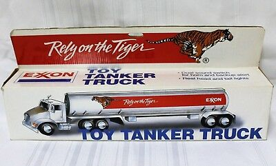 "Exxon 1992 Rely on the Tiger 14"" Toy Tanker Truck"