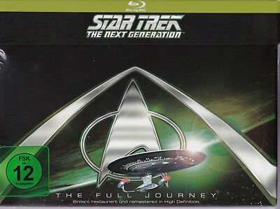 Star Trek The Full Journey The Next Generation 41 Disc Blu Ray Box HD 176 Episod