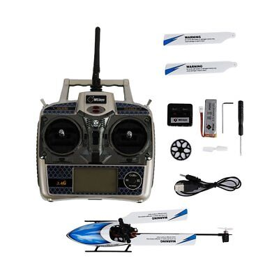 6 Channels 2.4Ghz Brushless Flybarless RC Helicopter for WLtoys V977 EH