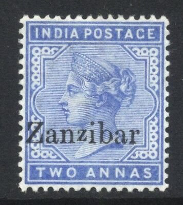 1895-96 Zanzibar QV 2a SG 7 Mint Hinged Cat £10.00