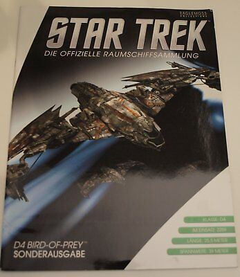 Star Trek Eaglemoss D4 Bird-of-Prey