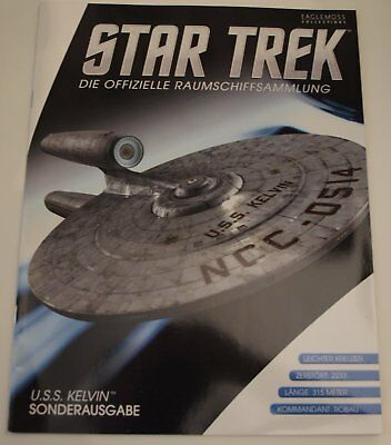 Star Trek Eaglemoss USS Kelvin