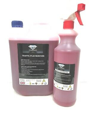 Tfr Caustic Traffic Film Remover 6 Litre 100:1 De-Greaser Cleaner Free Post