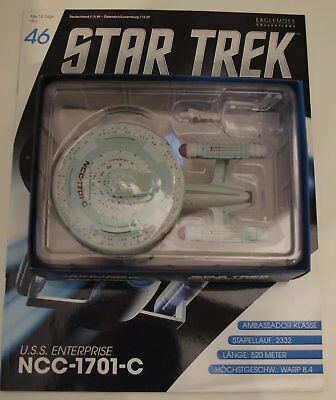 Star Trek Eaglemoss USS Enterprise NCC 1701-C