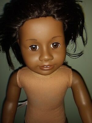 """18"""" American Girl African American Doll (Addy) AG Neck Stamp No Clothes"""