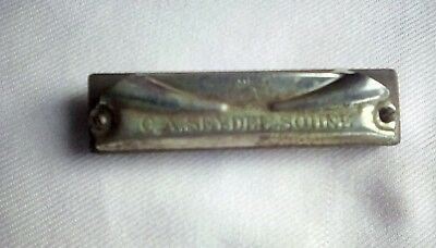 Antique 1920s C. A. Seydel Sohne 'The Bandmaster' Harmonica