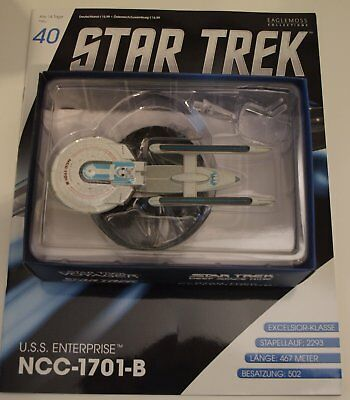 Star Trek Eaglemoss USS Enterprise, NCC 1701-B