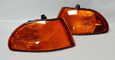 Front JDM Amber Corner Lights for Honda Civic 92-95 4 Door