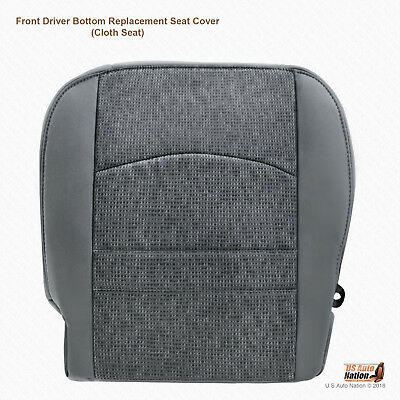2014 Dodge Ram 1500 2500 3500 4500 5500 SLT DRIVER Bottom Fabric Cover In Gray