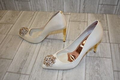 406a7cb098 TED BAKER PEETCH 2 Pumps, Women's Size 10, Ivory - $101.25 | PicClick