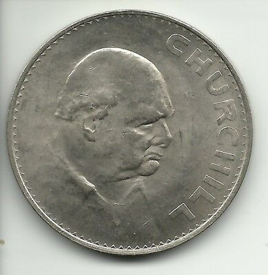 UK (Great Britain)   Churchill CROWN  1965 KM# 910