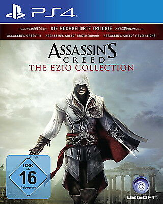 Assassin's Creed The Ezio Collection Sony PlayStation 4 *NEU & OVP* PS4