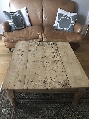 Pine Victorian Coffee Table