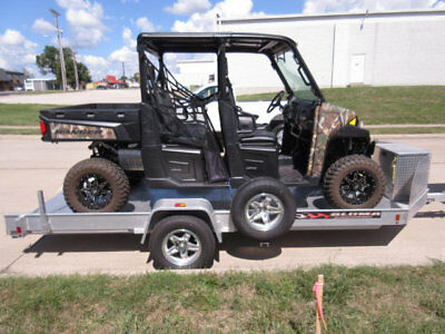 2014 Polaris Crew 900 Eps With Trailer
