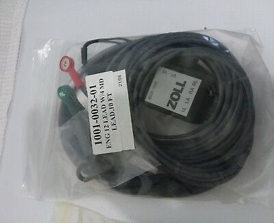 New Zoll Limb Lead Patient Cable for 12-lead ECG: For E & M Series - 8000-1006