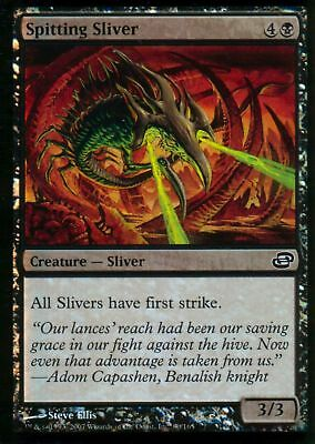1x FOIL SPITTING SLIVER - Rare - Planar Chaos - MTG - NM - Magic the Gatherin