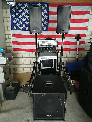 PA Lautsprecher American Audio Tri Pack Soundsystem