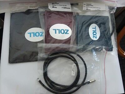 New Zoll OEM Cuff Set (3 Cuffs and Hose) for e or m series