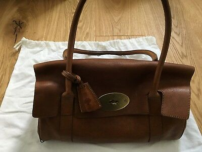 d1e101a85739 ... discount code for mulberry east west bayswater shoulder bag oak tan  leather used 1b655 9a383