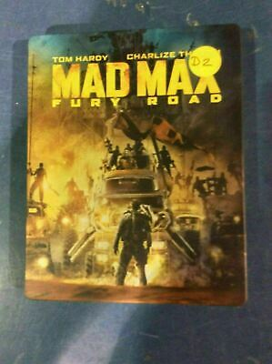 Mad Max: Fury Road - Limited Edition Steelbook [Blu-ray] AS IS!!(d)