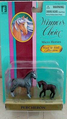 """Winners Choice """"Micro Horses"""" Mare and Foal collection."""