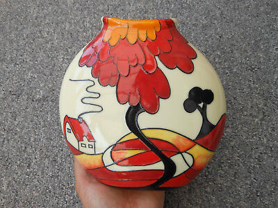 Old Tupton Ware Pottery Vase By Jeanne Mcdougall 1499 Picclick Uk