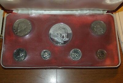 1973 7 Coin Lot Republic of Liberia Proof Set Elephant