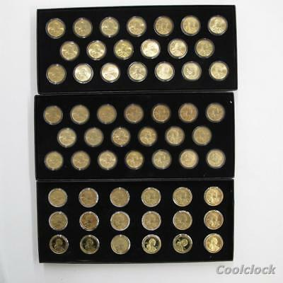 58 Pc Lot Sacagawea Native American Dollar $1 Coins Uncirculated Ungraded #T44