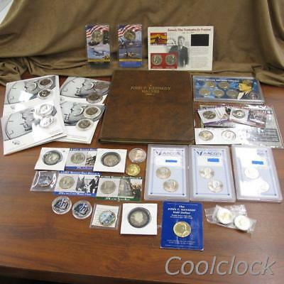 Kennedy Coin Mixed Years Coin Collection Lot - Includes over 90 Coins! #Y216