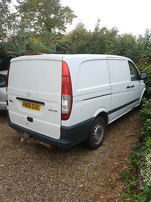 2006 Mercedes Vito 109 CDI Long Wheel Base