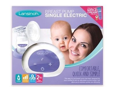 Brand New Lansinoh Single Electric Breast Pump Still Security Sealed