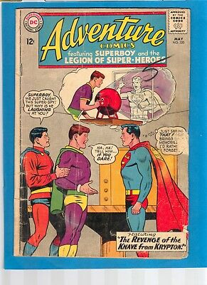 Adventure May 1964 #320 Superboy And The Legion Of Super-Heroes