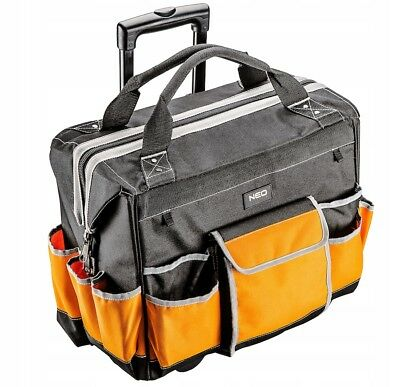 Neo Professional Rolling Tool Bag On Wheels Assembly Montage
