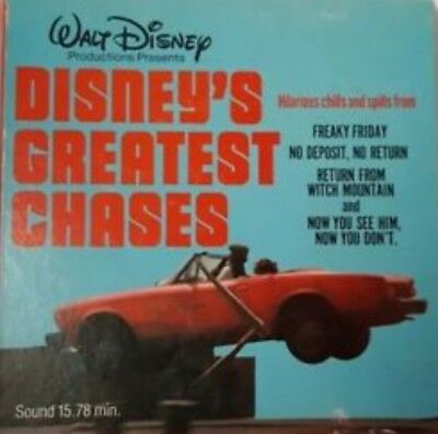 Disneys Greatest Car Chases Super 8mm Film